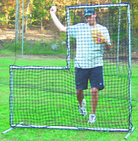 baseball pitching screen, baseball backstops
